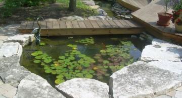 small minimalist Japanese garden bridge plans