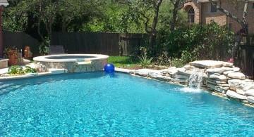 small pool waterfall ideas
