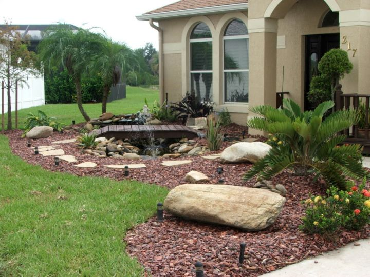 small rock garden designs with bridge and a pond on texas rock patio designs, texas rock garden landscape, texas rock home designs, texas landscape pool design ideas, texas native plant garden designs,