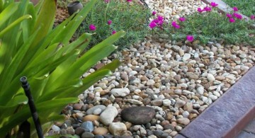 small simple rock garden ideas
