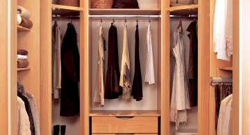 small walk in closet furniture