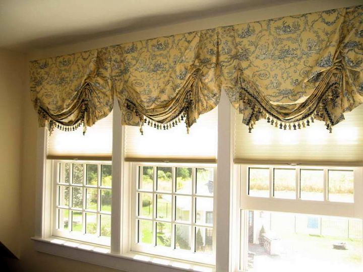 smocked russian types of valances