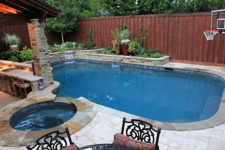 space smart pool for small yard