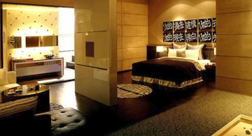 spacious Asian bedroom