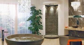 stone like unique tubs