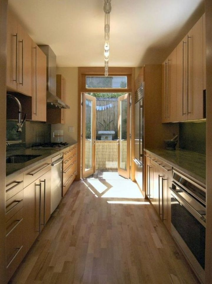 track lighting ideas for small kitchen with wooden floor