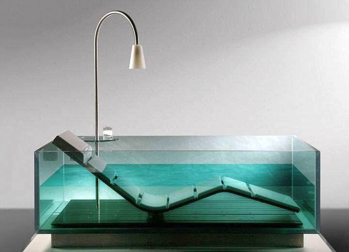 transparent unique tubs
