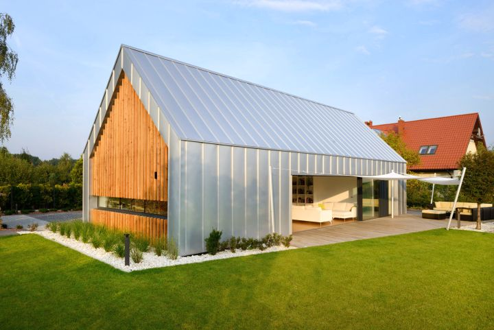 Modern Mash Of Two Barn House By Rs Architecture Poland