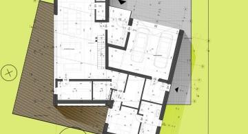 two barn house ground floor plan