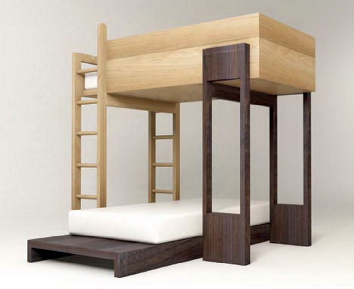unique Modern Bunkbed