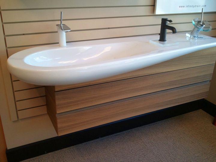 unique modern floating sinks