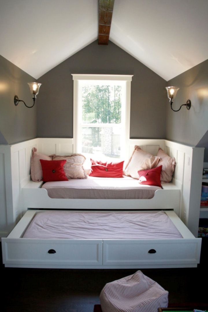 unique trundle beds for narrow space