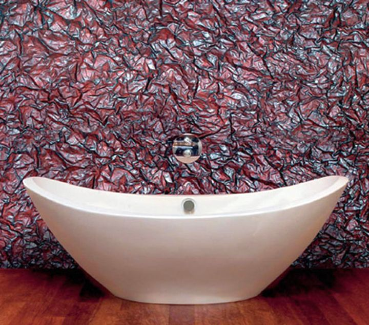 unique wall panels for modern bathroom