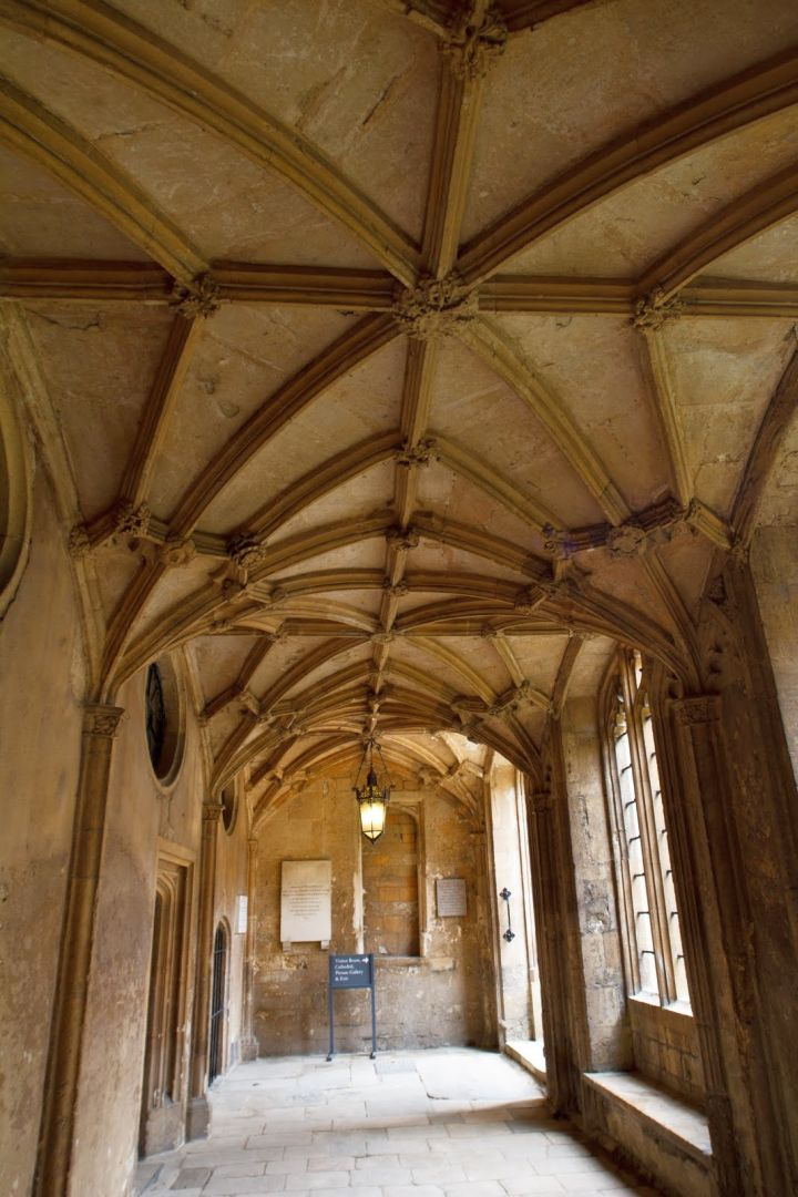 vault ceilings in Oxford