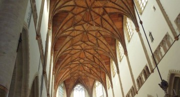 vault ceilings in cloister