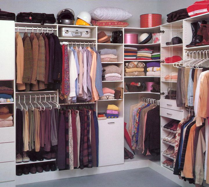 walk in closet furniture for him and her