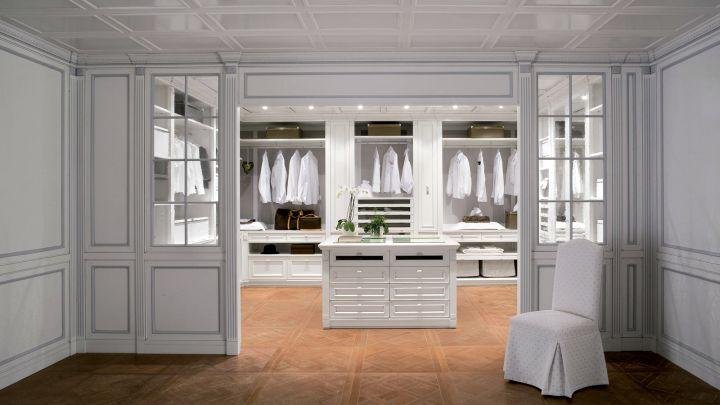 walk in closet furniture in white