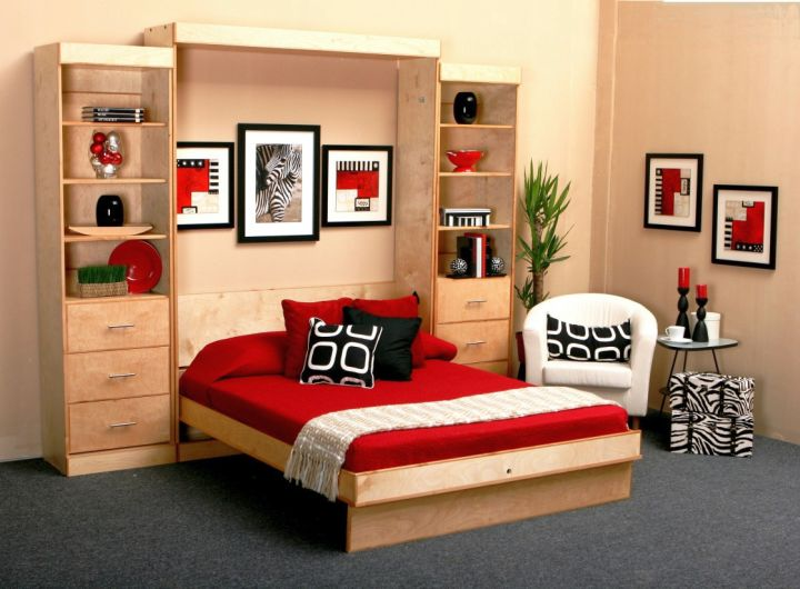Bed Attached To Wall 18 wall bed couch designs for small interior