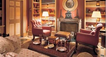 warm Tuscan living room decor