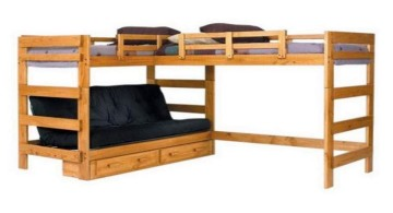 wide minimalist desk bed for adults