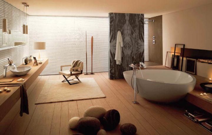 badezimmer holz accessoires inspiration. Black Bedroom Furniture Sets. Home Design Ideas