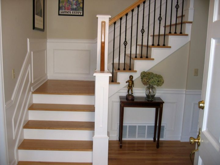Wood staircase for small space - Small space staircase image ...