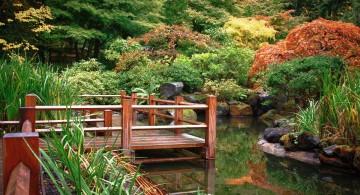 zigzag Japanese garden bridge plans