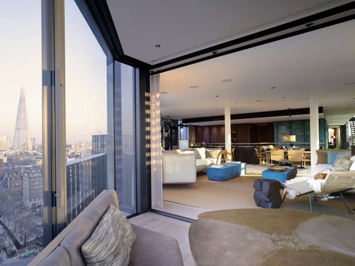 Penthouse NEO living area