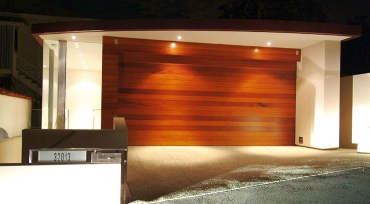 Point Place Residence garage door