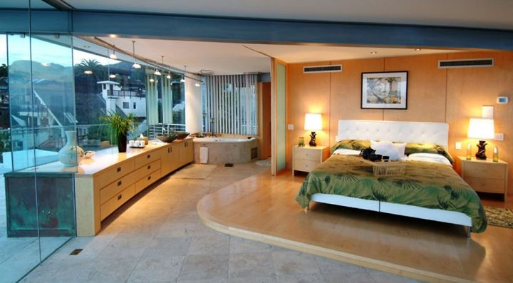Point Place Residence master bedroom inside