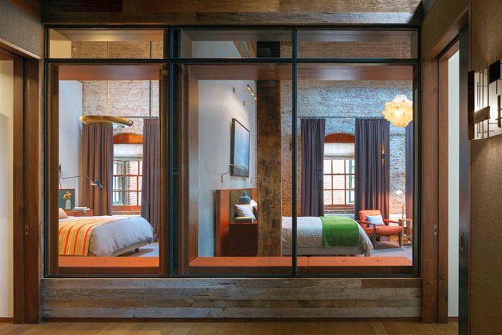 Tribeca Remodel details on wood