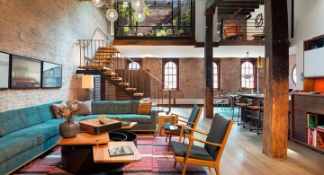 Tribeca Remodel living room