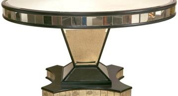art deco pedestal table base ideas