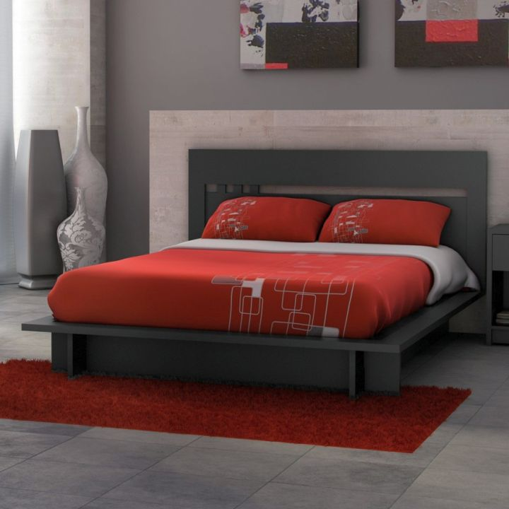 Red Black And White Bedroom Bedroom Decor Ideas For Small Rooms Neutral Color Bedroom Decor Philips Bedroom Lighting: 17 Great Black And Red Bedroom Paint Design Ideas