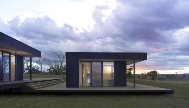 box shaped contemporary mobile homes