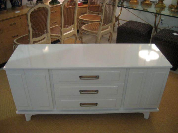 White Sideboard Decor Modern
