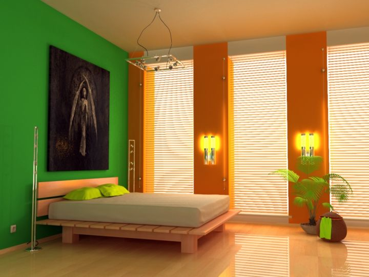 colorful funky bedroom ideas