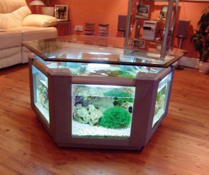 18 Captivating Mediterranean Bedroom Designs You Won T: 17 Pleasing Contemporary Fish Tank Ideas