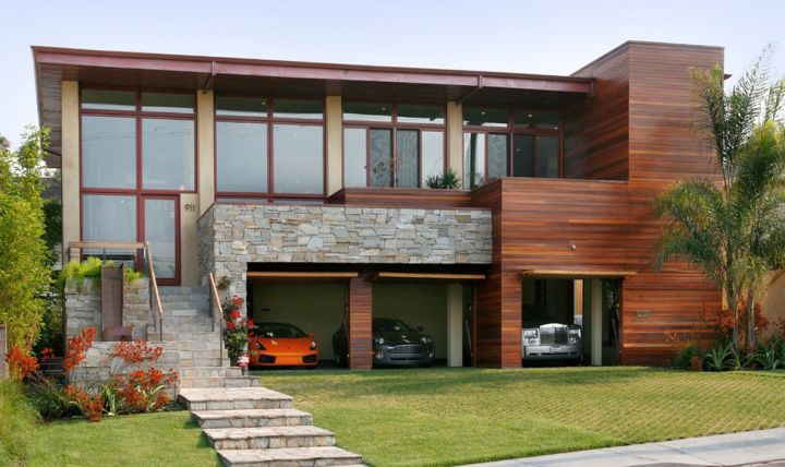 Modern House With Garage Modern House - Houses with underground garages