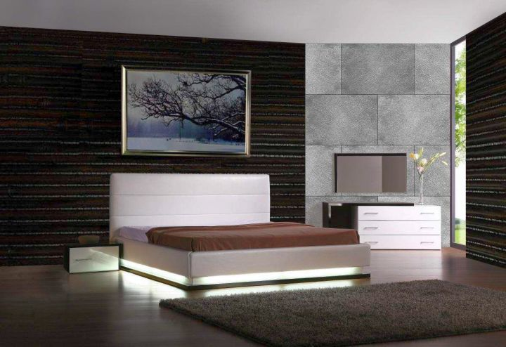 contemporary manly bedrooms