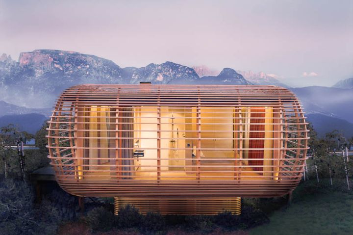 contemporary mobile homes as cottage
