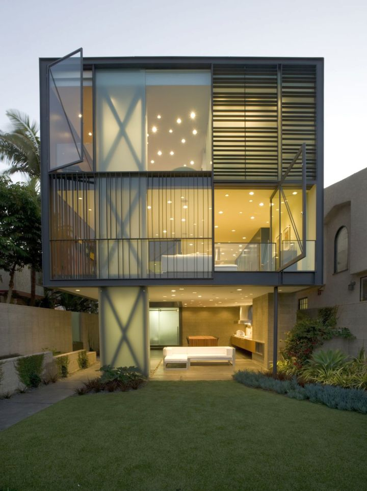 contemporary mobile homes from side