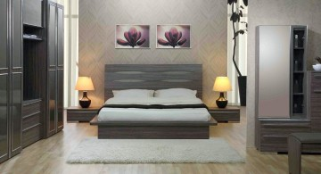 cool ideas for bedroom minimalist in grey