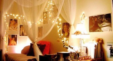 cool ideas for bedroom with sheer curtains for four posters
