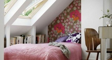 cool ideas for bedroom with skylight