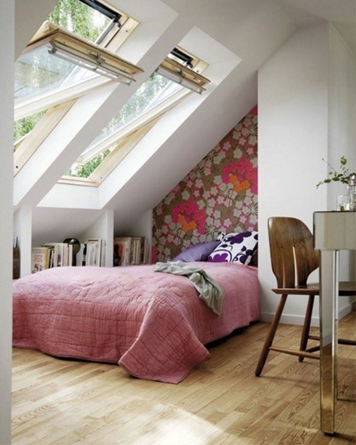 17 cool ideas for bedroom for all ages for Cool attic room ideas