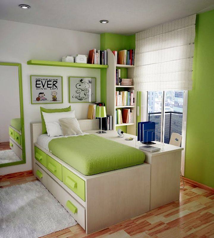 cool ideas for bedroom with storage bed