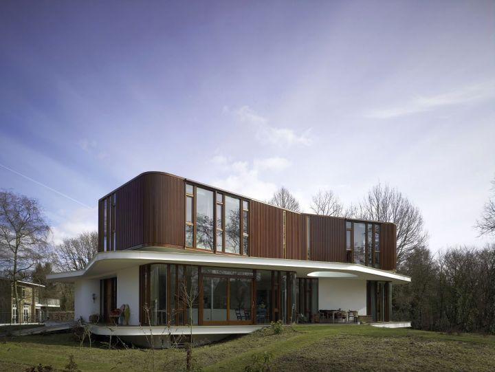 curvacious futuristic house plans