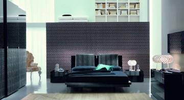 dark manly bedrooms