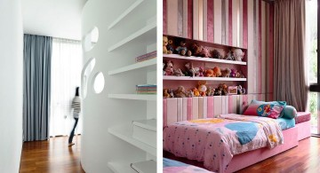 detached modern house kids room